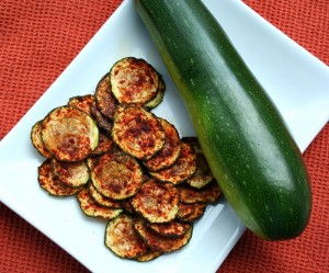 Low Carb Zucchini Chips with Smoked Paprika