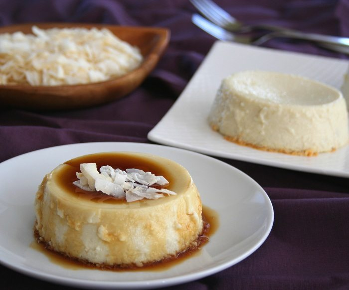 Low Carb Coconut Flan