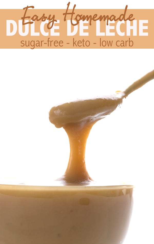 Low Carb Dulce de Leche recipe