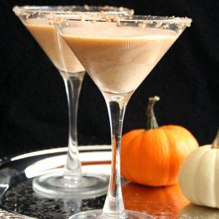 Low Carb Sugar-Free Pumpkin Pie Martini Recipe