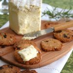 Gluten-Free Raisin Rosemary Crackers