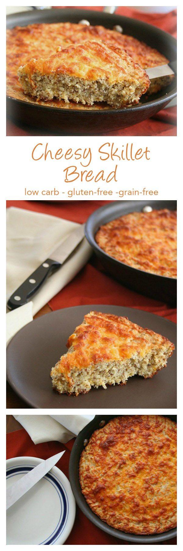 Low Carb Skillet Bread Recipe