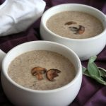 Brown Butter Mushroom Soup