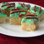 Low Carb Sugar Cookie Bars