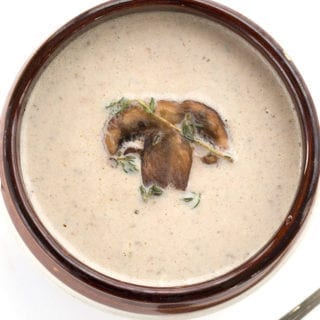 Brown Butter Mushroom Soup Recipe