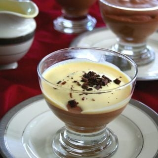 Chocolate Mousse with Creme Anglaise – Low Carb and Gluten Free