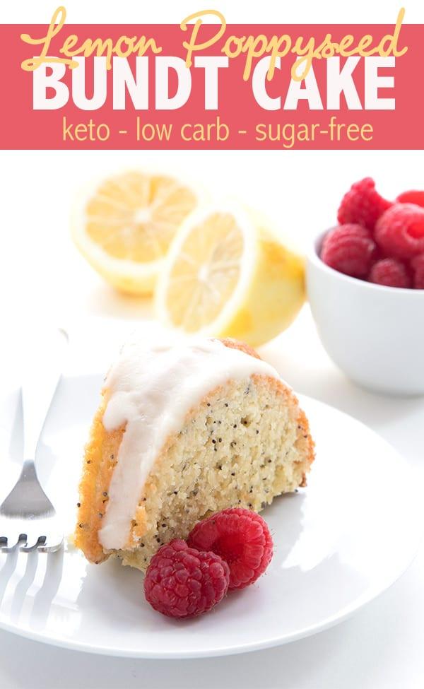 The original low carb lemon poppy seed bundt cake recipe