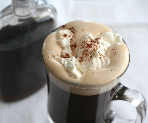 Low Carb Mexican Coffee with Sugar-Free Coffee Liqueur