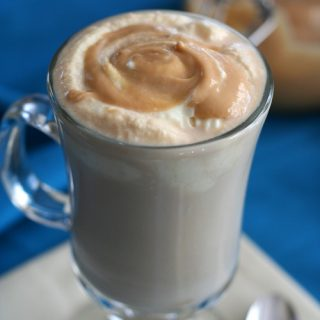 Low Carb Salted Caramel Latte