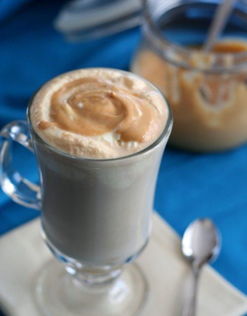 Sugar-Free Salted Caramel Latte