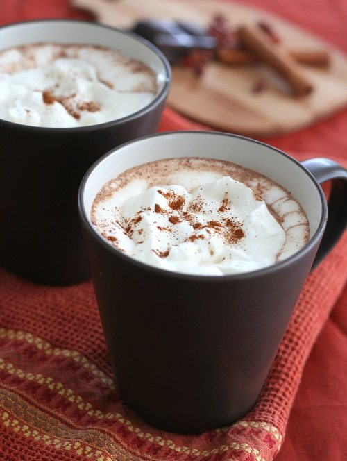 Low Carb Mexican Hot Chocolate Recipe | All Day I Dream About Food