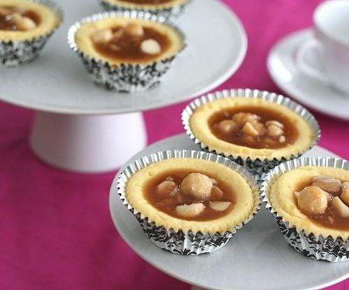 Sugar Free White Chocolate Macadamia Cheesecake Cups
