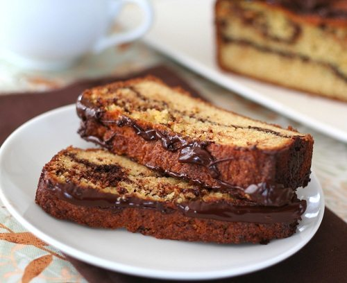 Low Carb Chocolate Orange Bread