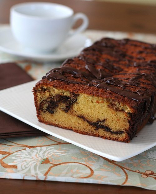Low Carb Chocolate Orange Quick Bread