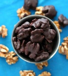 Dark Chocolate Covered Walnut Recipe