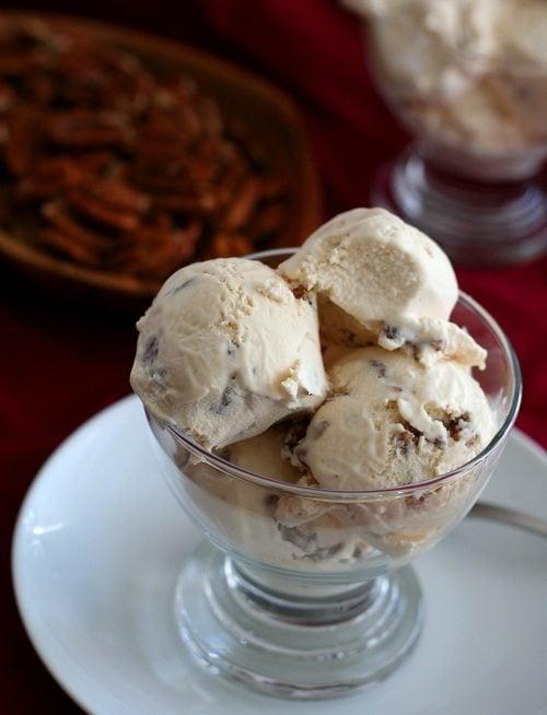 Low Carb Dulce De Leche Ice Cream