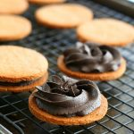 Low Carb Peanut Butter Chocolate Sandwich Cookies