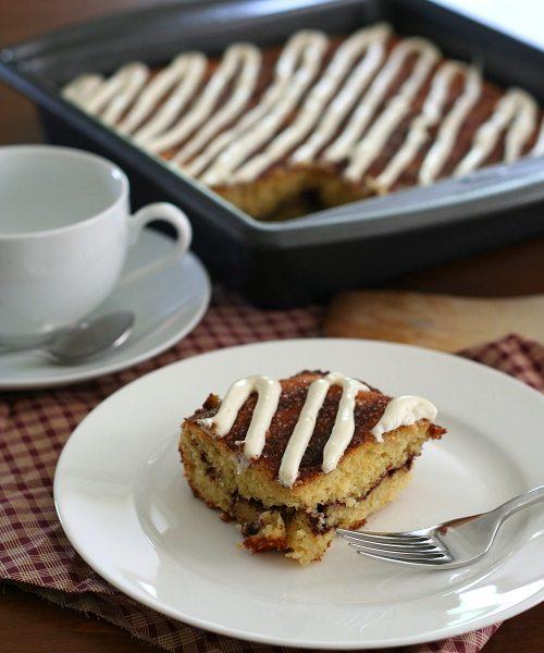 Gluten Free Sour Cream Coffee Cake
