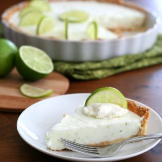 Low Carb Frozen Margarita Tart
