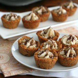 Tiramisu Cookie Cups @dreamaboutfood #lowcarb #glutenfree