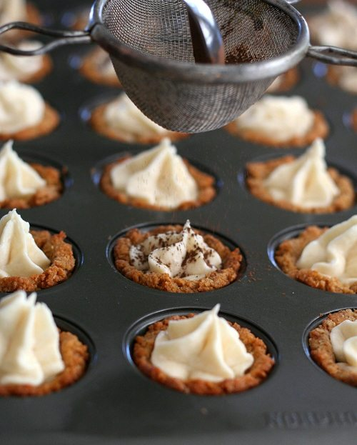 Tiramisu Cookie Cups @dreamaboutfood #lowcarb #glutenfree