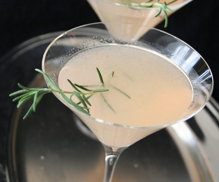 Rosemary Grapefruit Martini