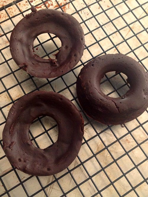 Chocolate Brownie Donuts 6