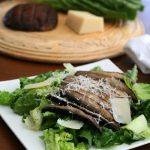 Grilled Portobello Caesar Salad