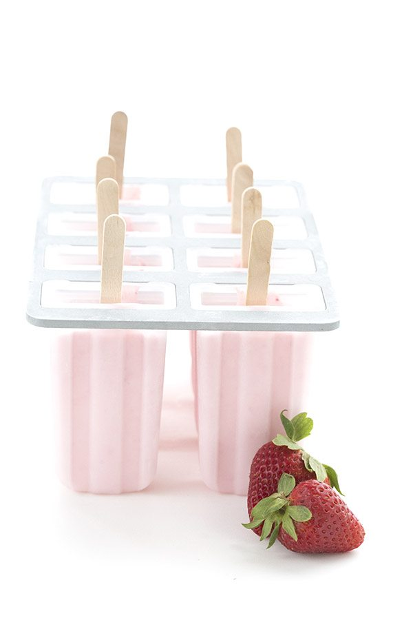 So easy and delicious, these sugar-free Strawberry Cheesecake Popsicles are always a hit.