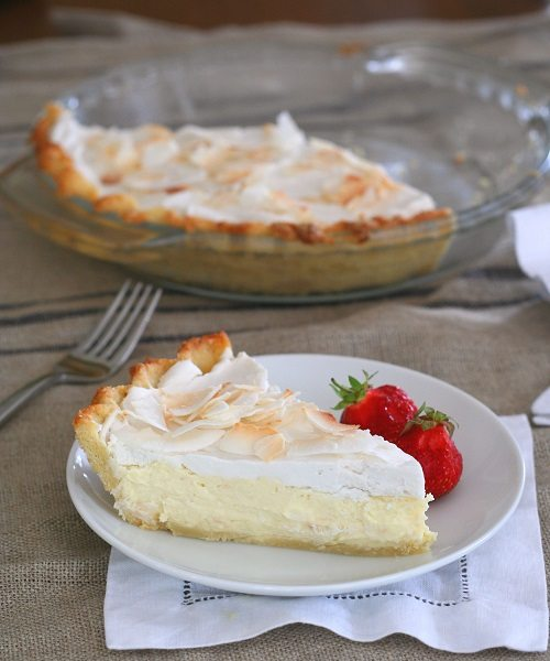 Low Carb Gluten-Free Coconut Cream Pie