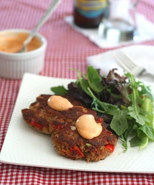 Low Carb Gluten-Free Crab Cakes