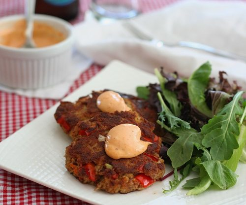 low carb crab cakes have all the flavor of traditional crab cakes ...