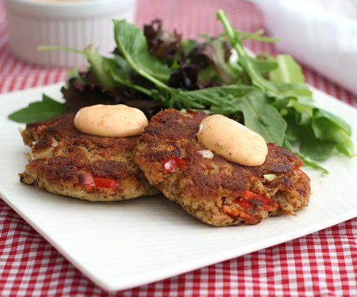 Low Carb Gluten-Free Crab Cake Recipe | All Day I Dream About Food