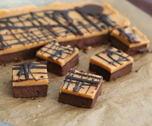 Low Carb Peanut Butter Fudge Brownies