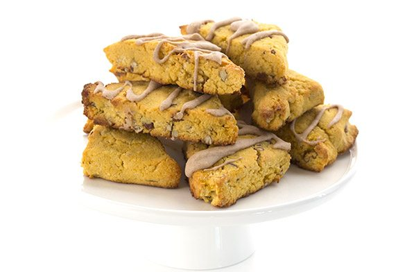 Delicious grain-free and sugar-free pumpkin scones recipe