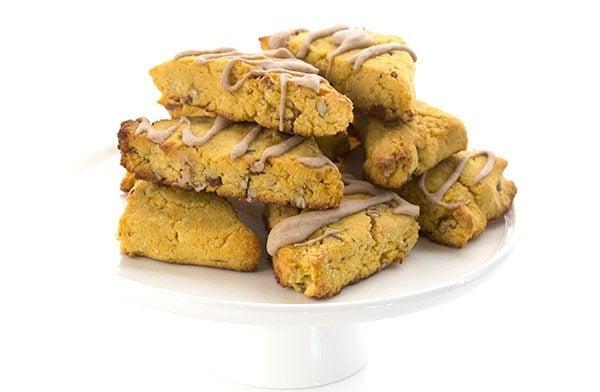 Delicious grain-free and sugar-free pumpkin scones recipe