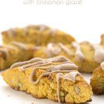 Low carb grain-free pumpkin scone recipe