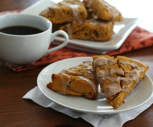 Low Carb Pumpkin Scones
