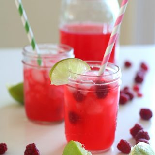 Low Carb Raspberry Limeade