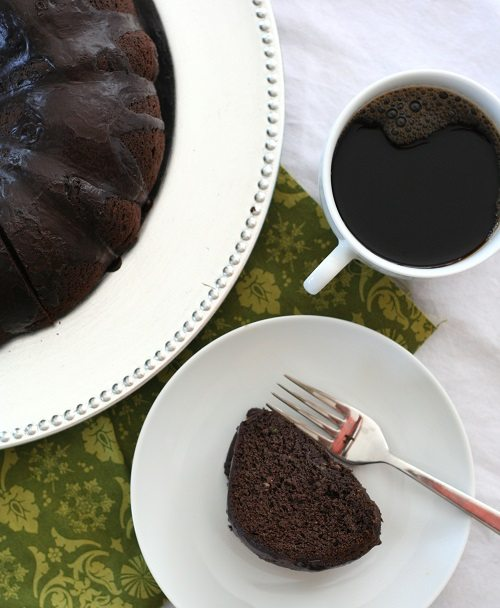 Chocolate Zucchini Bundt Cake 3