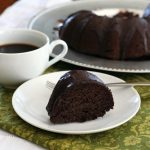 Low Carb Chocolate Zucchini Bundt Cake - Gluten-Free