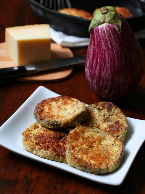 Low Carb Gluten-Free Garlic Parmesan Eggplant Recipe | All Day I Dream ...