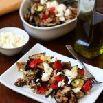 Low Carb Grilled Vegetable Salad