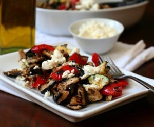 Low Carb Grilled Vegetable Salad