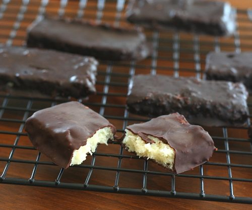 Homemade Low Carb Mounds Bars
