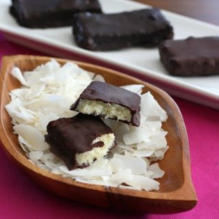 Sugar Free Homemade Mounds Bars