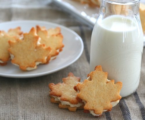 Gluten-Free Maple Cream Sandwich Cookies