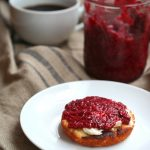 Low Carb Raspberry Chia See Jam