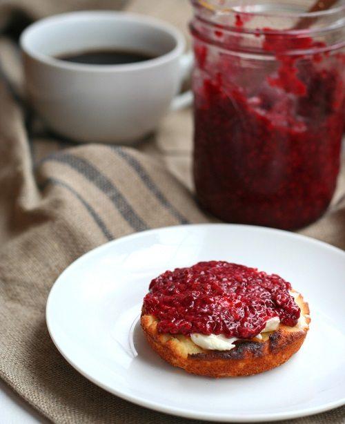 Low Carb Raspberry Chia Seed Jam