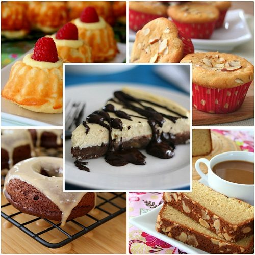 low carb baking collage